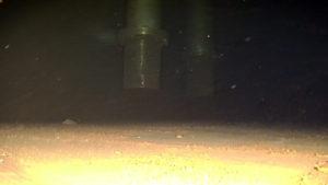 Inspection du fond d'une cuve de stockage d'eau