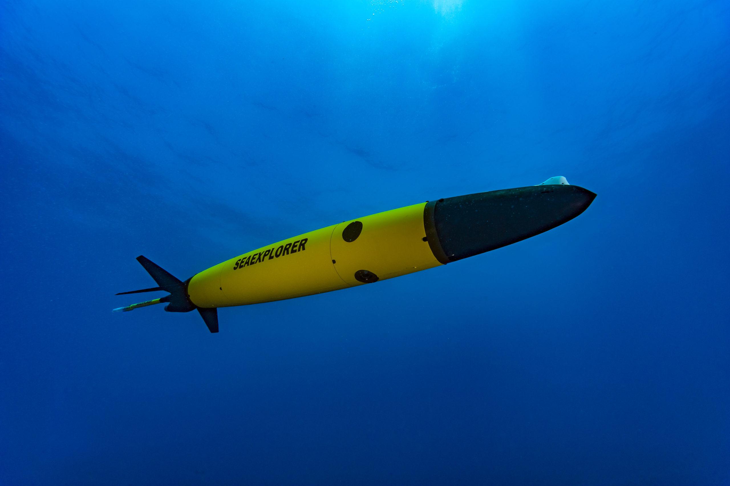 Glider SeaExplorer d'Alseamar